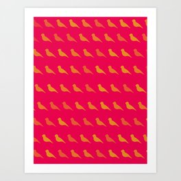 Bird Pop Series Art Print