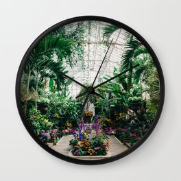 The Main Greenhouse Wall Clock