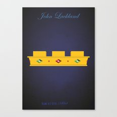 John Lackland | Villains do It Better Canvas Print