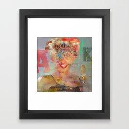 Destructuration 3 Framed Art Print