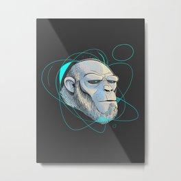 Ape Introspection Metal Print