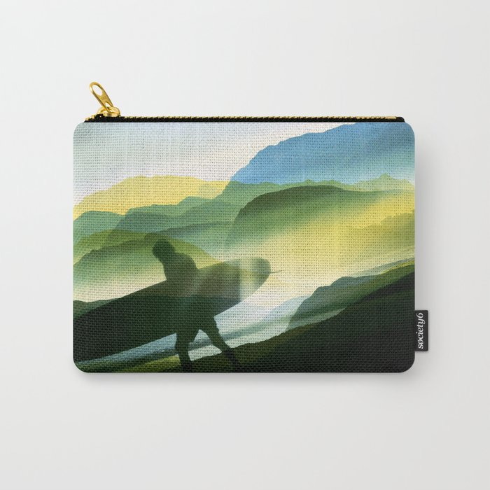 Sunny Surf Carry-All Pouch