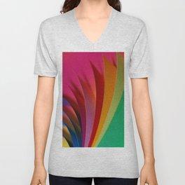 color paper 2 Unisex V-Neck