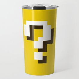 New Question Block Travel Mug