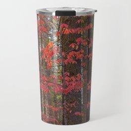 Red Dogwood Travel Mug