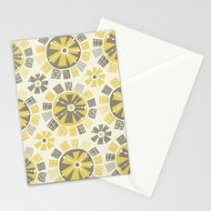 Mod Floral Stationery Cards