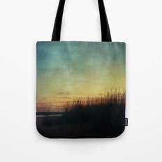 Floating in a Turquoise Sea Tote Bag