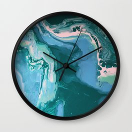Oceanic Flow Wall Clock