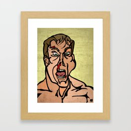 We Like Bloodsports and We Don't Care Who Knows Framed Art Print