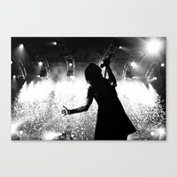 hayley williams Canvas Prints featuring Hayley Williams #2 by Ethan Luck