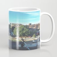 hustle Mugs featuring Hustle by Out of Line