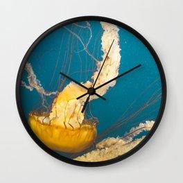 Pacific Sea Nettle Jellyfish I Wall Clock