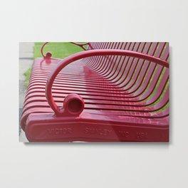 Gaining Perspective Metal Print