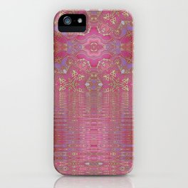 Rippling Pink iPhone Case