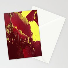 Abstract Petunia. Stationery Cards