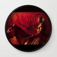 blackhawks Wall Clocks featuring Blackhawks Tribute by Bryan Butler Art