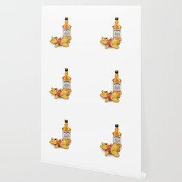 Pooh's Honey Trouble Wallpaper
