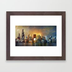 Chicago Sunrise Framed Art Print
