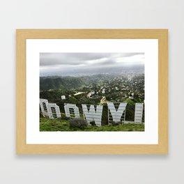 (Ho)LLYWOOD Framed Art Print