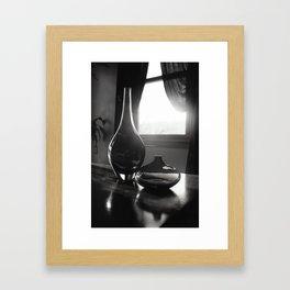 Twin Vases Framed Art Print