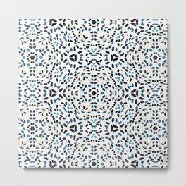 Splits Kaleidoscope Metal Print