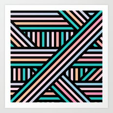 Stripes Art Print