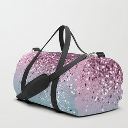 Unicorn Girls Glitter #6 #shiny #pastel #decor #art #society6 Duffle Bag