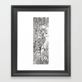 Rare Bird Framed Art Print