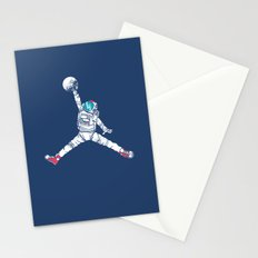 Space dunk Stationery Cards