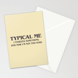 Typical Me Stationery Cards