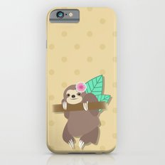 Sloth Illustration iPhone 6 Slim Case