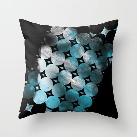 CircleTracts Throw Pillow