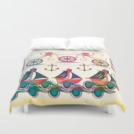 Sailor Duvet Cover