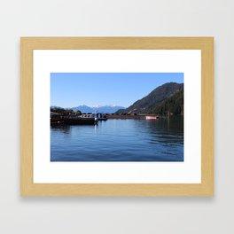 Lago Todos Los Santos Framed Art Print