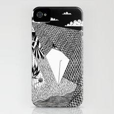 Bird Crossing over the full moon iPhone (4, 4s) Slim Case
