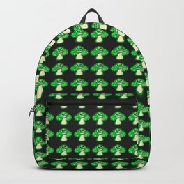 An Evil, Glowing, Mushroom Backpack