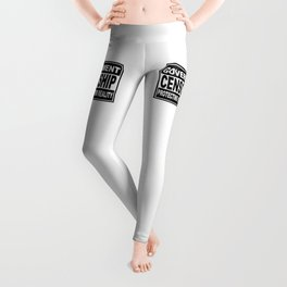 Government Censorship Protecting You From Reality Leggings