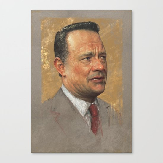Tom Hanks Canvas Print