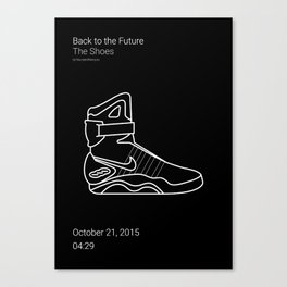 The Shoes BTTF Canvas Print