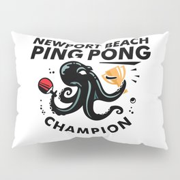 Newport Beach Ping Pong Classic Champion Pillow Sham