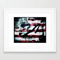 dodgers Framed Art Prints featuring Hero I by 6-4-3