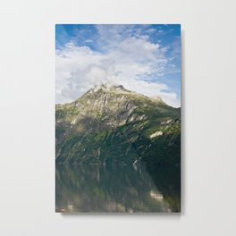 Fuming mountain Metal Print