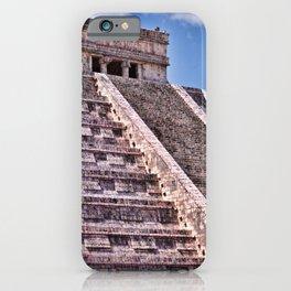 Kukulcan Mayan Pyramid at Chichen Iza iPhone Case