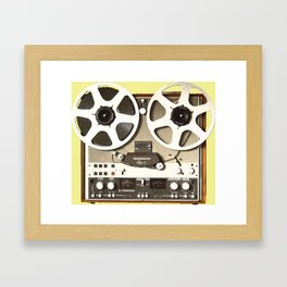 Reel To Real Framed Art Print