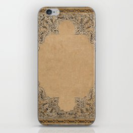 Old Knotwork Paper iPhone Skin