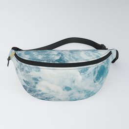 Rough Sea - Ocean Photography Fanny Pack