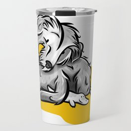 The Maltese dog Travel Mug