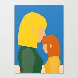 Mum And Daughter Canvas Print