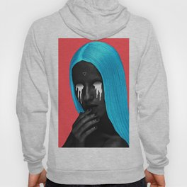 small upside down triangle Hoody