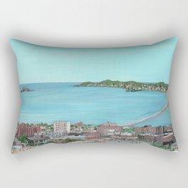 Ocean Lynn Massachusetts Nahant Egg Rock City Rectangular Pillow